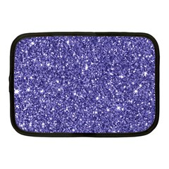 New Sparkling Glitter Print E Netbook Case (medium)  by MoreColorsinLife