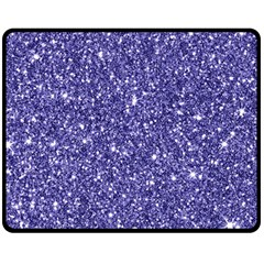 New Sparkling Glitter Print E Fleece Blanket (medium)  by MoreColorsinLife