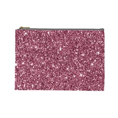 New Sparkling Glitter Print C Cosmetic Bag (large)  by MoreColorsinLife