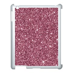 New Sparkling Glitter Print C Apple Ipad 3/4 Case (white) by MoreColorsinLife