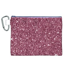 New Sparkling Glitter Print C Canvas Cosmetic Bag (xl) by MoreColorsinLife
