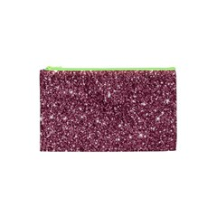 New Sparkling Glitter Print C Cosmetic Bag (xs) by MoreColorsinLife