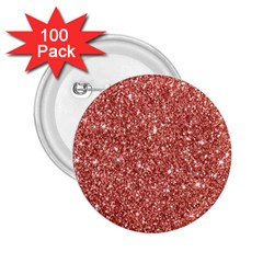 New Sparkling Glitter Print B 2 25  Buttons (100 Pack)  by MoreColorsinLife