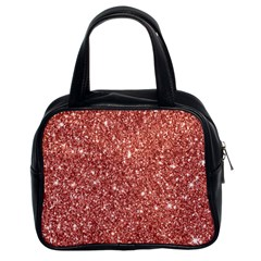 New Sparkling Glitter Print B Classic Handbags (2 Sides) by MoreColorsinLife