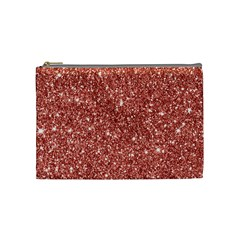 New Sparkling Glitter Print B Cosmetic Bag (medium)  by MoreColorsinLife
