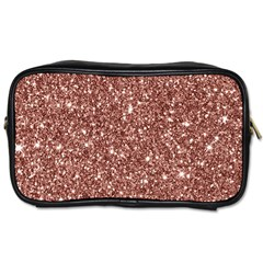 New Sparkling Glitter Print A Toiletries Bags 2 Side by MoreColorsinLife