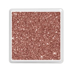 New Sparkling Glitter Print A Memory Card Reader (square)  by MoreColorsinLife