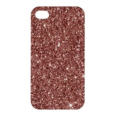 New Sparkling Glitter Print A Apple Iphone 4/4s Hardshell Case by MoreColorsinLife
