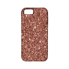 New Sparkling Glitter Print A Apple Iphone 5 Classic Hardshell Case (pc+silicone) by MoreColorsinLife