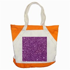 New Sparkling Glitter Print D Accent Tote Bag by MoreColorsinLife