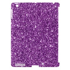 New Sparkling Glitter Print D Apple Ipad 3/4 Hardshell Case (compatible With Smart Cover) by MoreColorsinLife