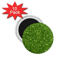 New Sparkling Glitter Print G 1 75  Magnets (10 Pack)  by MoreColorsinLife