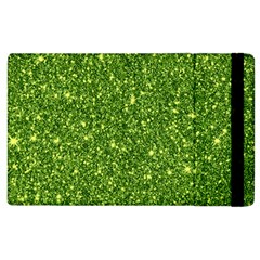 New Sparkling Glitter Print G Apple Ipad 2 Flip Case by MoreColorsinLife
