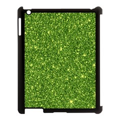 New Sparkling Glitter Print G Apple Ipad 3/4 Case (black) by MoreColorsinLife