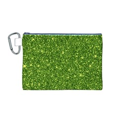 New Sparkling Glitter Print G Canvas Cosmetic Bag (m) by MoreColorsinLife