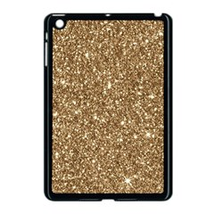 New Sparkling Glitter Print H Apple Ipad Mini Case (black) by MoreColorsinLife