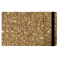 New Sparkling Glitter Print H Apple Ipad Pro 9 7   Flip Case by MoreColorsinLife