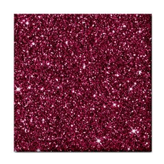 New Sparkling Glitter Print J Face Towel by MoreColorsinLife