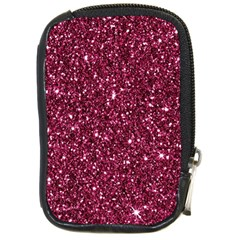 New Sparkling Glitter Print J Compact Camera Cases by MoreColorsinLife