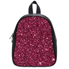 New Sparkling Glitter Print J School Bag (small) by MoreColorsinLife