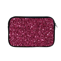 New Sparkling Glitter Print J Apple Macbook Pro 13  Zipper Case by MoreColorsinLife