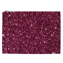 New Sparkling Glitter Print J Cosmetic Bag (xxl)  by MoreColorsinLife