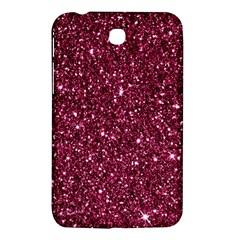 New Sparkling Glitter Print J Samsung Galaxy Tab 3 (7 ) P3200 Hardshell Case  by MoreColorsinLife