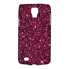 New Sparkling Glitter Print J Galaxy S4 Active by MoreColorsinLife