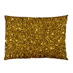 New Sparkling Glitter Print I Pillow Case by MoreColorsinLife