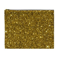 New Sparkling Glitter Print I Cosmetic Bag (xl) by MoreColorsinLife
