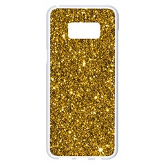 New Sparkling Glitter Print I Samsung Galaxy S8 Plus White Seamless Case by MoreColorsinLife