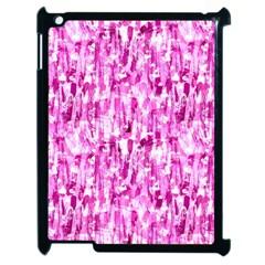 Pink Grunge Love Apple Ipad 2 Case (black) by KirstenStar