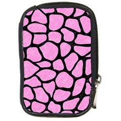 Skin1 Black Marble & Pink Colored Pencil (r) Compact Camera Cases by trendistuff