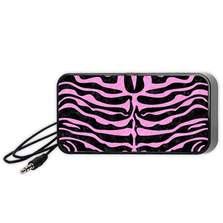 SKIN2 BLACK MARBLE & PINK COLORED PENCIL (R) Portable Speaker