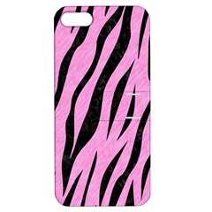 Skin3 Black Marble & Pink Colored Pencil Apple Iphone 5 Hardshell Case With Stand by trendistuff