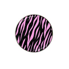 Skin3 Black Marble & Pink Colored Pencil (r) Hat Clip Ball Marker (10 Pack) by trendistuff