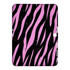Skin3 Black Marble & Pink Colored Pencil (r) Samsung Galaxy Tab 4 (10 1 ) Hardshell Case  by trendistuff