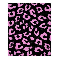 Skin5 Black Marble & Pink Colored Pencil Shower Curtain 60  X 72  (medium)  by trendistuff