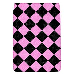 Square2 Black Marble & Pink Colored Pencil Flap Covers (s)  by trendistuff