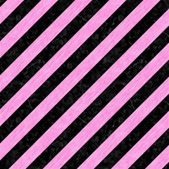 Stripes3 Black Marble & Pink Colored Pencil (r) Magic Photo Cubes by trendistuff