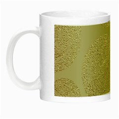 Modern, Gold,polka Dots, Metallic,elegant,chic,hand Painted, Beautiful,contemporary,deocrative,decor Night Luminous Mugs