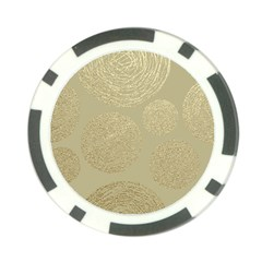 Modern, Gold,polka Dots, Metallic,elegant,chic,hand Painted, Beautiful,contemporary,deocrative,decor Poker Chip Card Guard