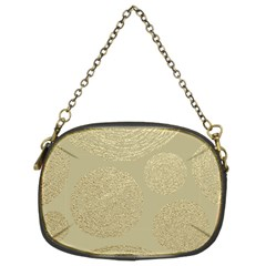 Modern, Gold,polka Dots, Metallic,elegant,chic,hand Painted, Beautiful,contemporary,deocrative,decor Chain Purses (two Sides)
