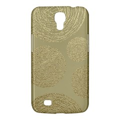 Modern, Gold,polka Dots, Metallic,elegant,chic,hand Painted, Beautiful,contemporary,deocrative,decor Samsung Galaxy Mega 6 3  I9200 Hardshell Case