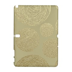 Modern, Gold,polka Dots, Metallic,elegant,chic,hand Painted, Beautiful,contemporary,deocrative,decor Galaxy Note 1 by 8fugoso