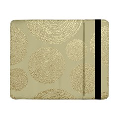 Modern, Gold,polka Dots, Metallic,elegant,chic,hand Painted, Beautiful,contemporary,deocrative,decor Samsung Galaxy Tab Pro 8 4  Flip Case