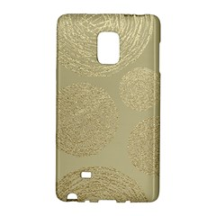 Modern, Gold,polka Dots, Metallic,elegant,chic,hand Painted, Beautiful,contemporary,deocrative,decor Galaxy Note Edge by 8fugoso