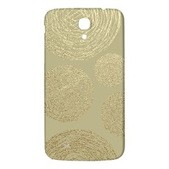 Modern, Gold,polka Dots, Metallic,elegant,chic,hand Painted, Beautiful,contemporary,deocrative,decor Samsung Galaxy Mega I9200 Hardshell Back Case by 8fugoso