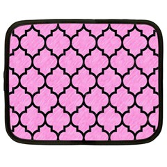 Tile1 Black Marble & Pink Colored Pencil Netbook Case (xl)  by trendistuff