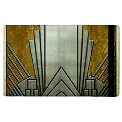 Art Nouveau Gold Silver Apple Ipad 3/4 Flip Case by 8fugoso